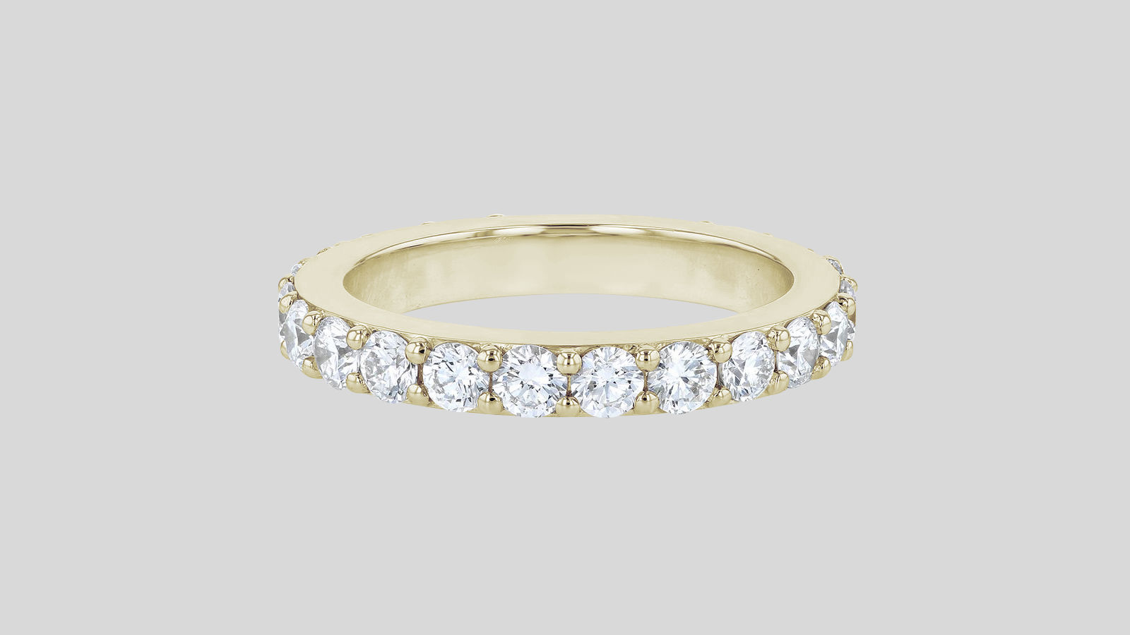 The 2 Carat Diamond Eternity Band Ring